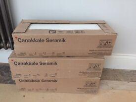 White ceramic tiles from Topps Tiles (4.5sqm)