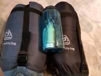 2 x Euro Hike sleeping bags & Travel Kit