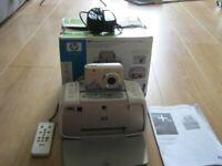 HP Photosmart A433 Portable Photo Studio. M425 camera and A430 printer