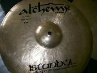 Large selection of Turkish cymbals for sale.Prices on request.
