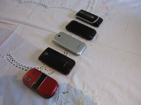 X5 MIX MOBILE PHONES ALL IN FULL WORKING ORDER.