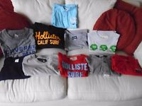 Selection of Hollister, G-star, Abercombie & Fitch etc