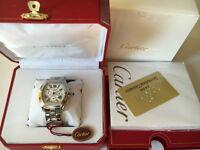 New Swiss Cartier Roadster Chronograph Watch