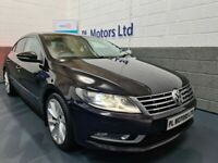 AUGUST 2014 VOLKSWAGEN CC 2.0 TDI BLUEMOTION TECH GT COUPE 6-SPEED 1LOCAL COMPANY OWNER GREAT SPEC !