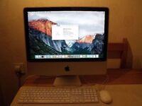 I Mac 20 inch Model A1224 El Capitan