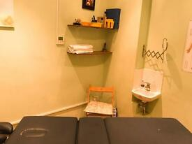 Treatment room to rent in E1 area