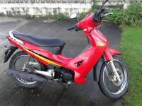 Honda Innova anf 125 scooter new tyres and mot