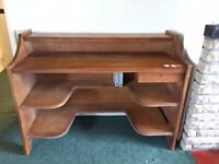 Solid oak desk/ counter