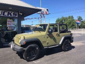 2013 Jeep Wrangler $202 Bi-weekly!! Super Sharp 4x4!!!