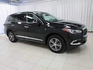 2019 Infiniti QX60 AWD 7PASS WITH LEATHER, NAVIGATION, BLIND SPO