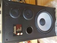 Brand new Acoustic studio monitors