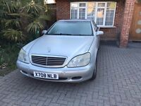Mercedes Benz S320, Silver with Grey Leather Seats, Very Low Mileage, Full Service History