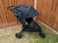 Baby Jogger City Mini GT, Black, New Logo