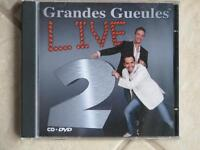 CD+DVD Grandes Gueules LIVE 2