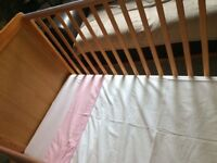 Toddler/cot bed