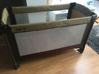 Mamas and papas (larger size) travel cot