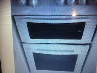 Swan cooker twin cavity white