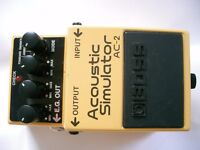 BOSS by Roland AC-2 Acoustic simulator stompbox/pedal/effects unit for electric guitar - Taiwan