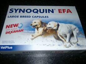 SYNOQUIN LARGE BREED CAPSULES OR TABLETS