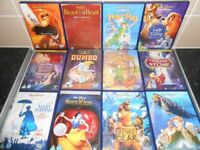 LARGE DISNEY DVD COLLECTION X36 - £2 EACH 0R £50 FOR ALL