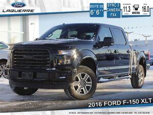 2016 Ford F-150 XLT, SPORT, CREW CAB,