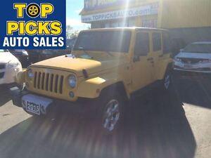 2015 Jeep WRANGLER UNLIMITED SAHARA UNLIMITED, 4X4, HARDTOP, NAV