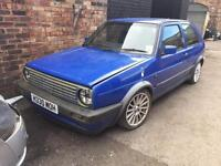 Vw golf mk2 gti 1.8 1990 breaking for parts 3dr