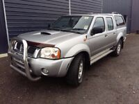 breaking silver KY0 nissan navara D22 double cab turbo diesel 4x4 parts spares