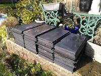 Cembrit Jutland Slate graphite 600x300mm roofing tiles