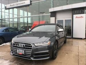 2016 Audi S6 4.0T w/VENTILATED FRONT SEATS