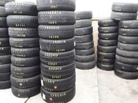 Part worn tyres / branded tyres / singles from £ 10- collection from barking