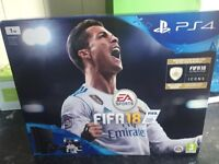 BRAND NEW PS4 WITH FIFA18