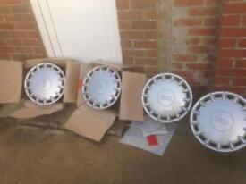 Audi steel wheels & trims not Alloys