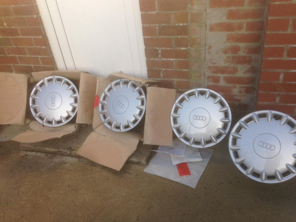 Audi steel wheels & trims not Alloys