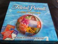 Trivial pursuit globetrotter board game