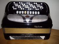 Hohner Riviera 5R Button accordion for sale