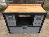 Van Racking / Shelving / Workbench / Drawers - MODUL / TEVO - Good Condition - Heavy Duty