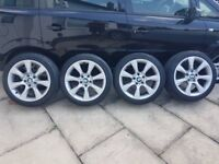 Genuine BMW wheels with tyres for 1,2,3,4,5 class models