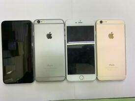 IPHONE 6 16GB 64GB 128GB UNLOCKED GOOD CONDITION AND WARRANTY