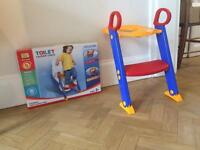Toddler / Child's Toilet Ladder Seat As New