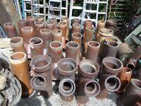 Loads of Salt Glazed Pipes for Garden Planters £15 Each
