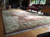 Large Jaipur wool rug -a real bargain