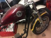 Harley Davidson Sportster 883 Project