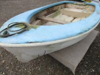 old grp dinghy