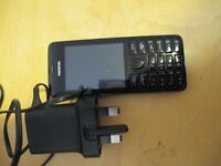 NOKIA 206 MOBILE PHONE UNLOCKED //CAMERA//INTERNET//GPS ETC