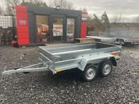 BRAND NEW 8.7 x 4.2 DOUBLE AXLE FLAT TRAILER 750KG