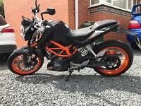 KTM 390 Duke Lowered