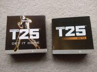 Shaun T's FOCUS T25 Alpha & Beta Home Fitness DVD Workout Programme - BRAND NEW
