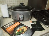 Large Breville Antony Worrall Thompson MM11 Slow Cooker 4.5 L with Three Cookbooks