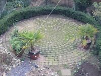 Circle of Block Paving